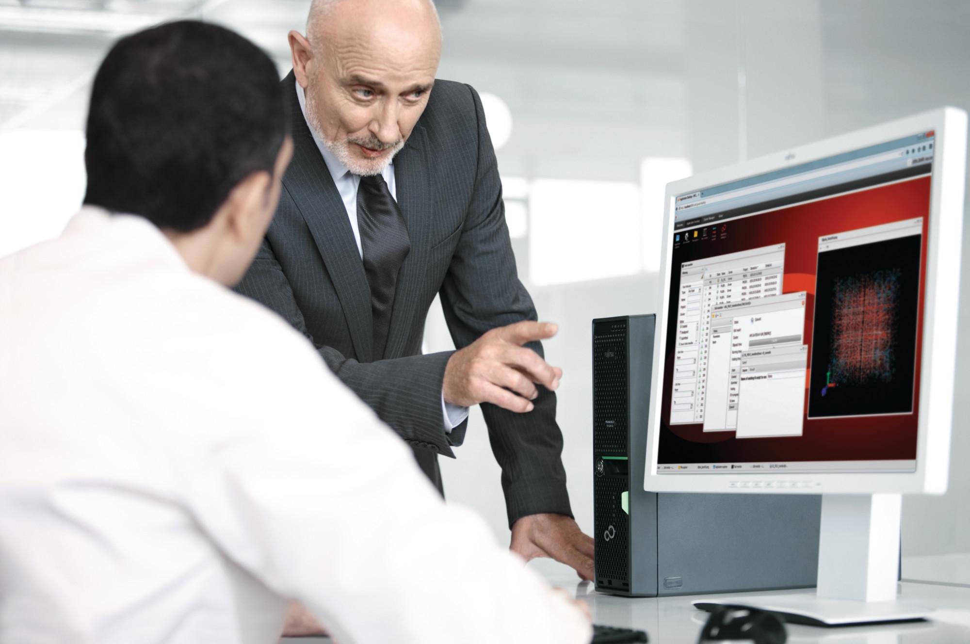 Main visual : Thinking high-performance computing for your SMB? Think FUJITSU PRIMERGY server graphics cards