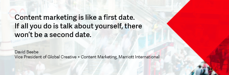 David Beebe Content Marketing Quote