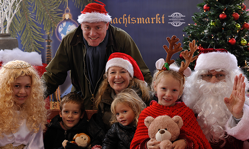 Enjoy a traditional German Christmas market at the Atlanta International School.