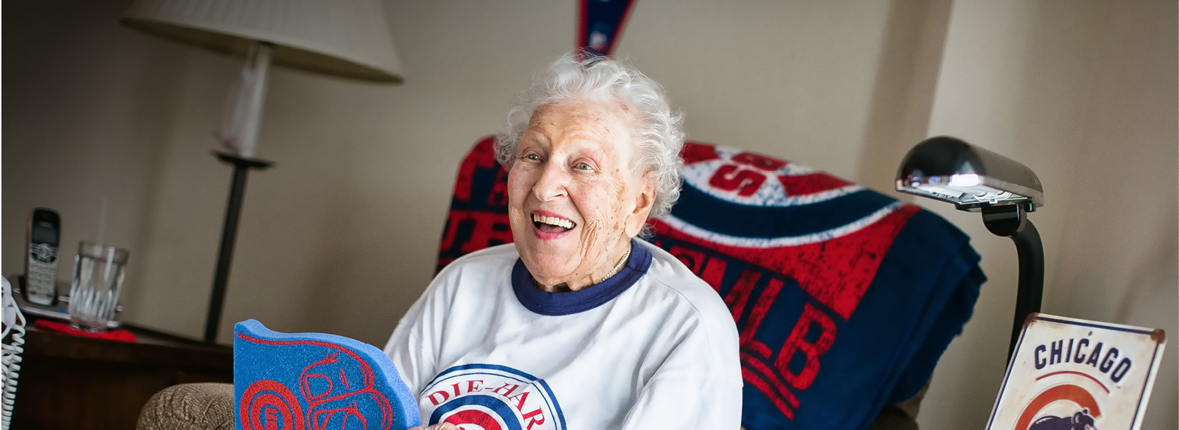 Meet Cubs superfan: Rose Salerno