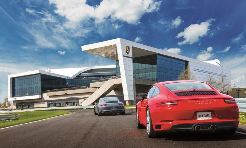 Rev your engines and get your heart racing at the Porsche Experience Center.