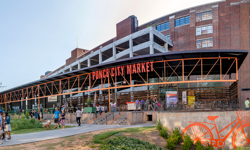 Its a dog-gone good time at  Ponce City Market. (📷 Gene Phillips, AtlantaPhotos.com)