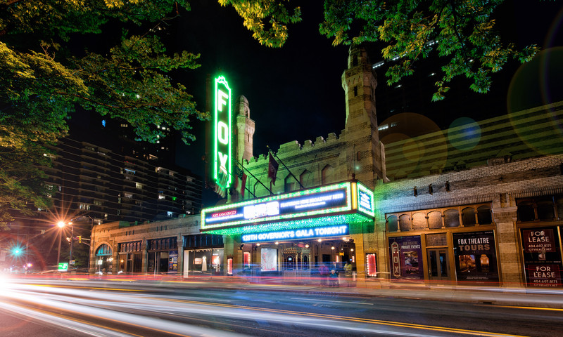 The fabulous Fox Theatre is your destination for Broadway in Atlanta. (📷 Gene Phillips, AtlantaPhotos.com)