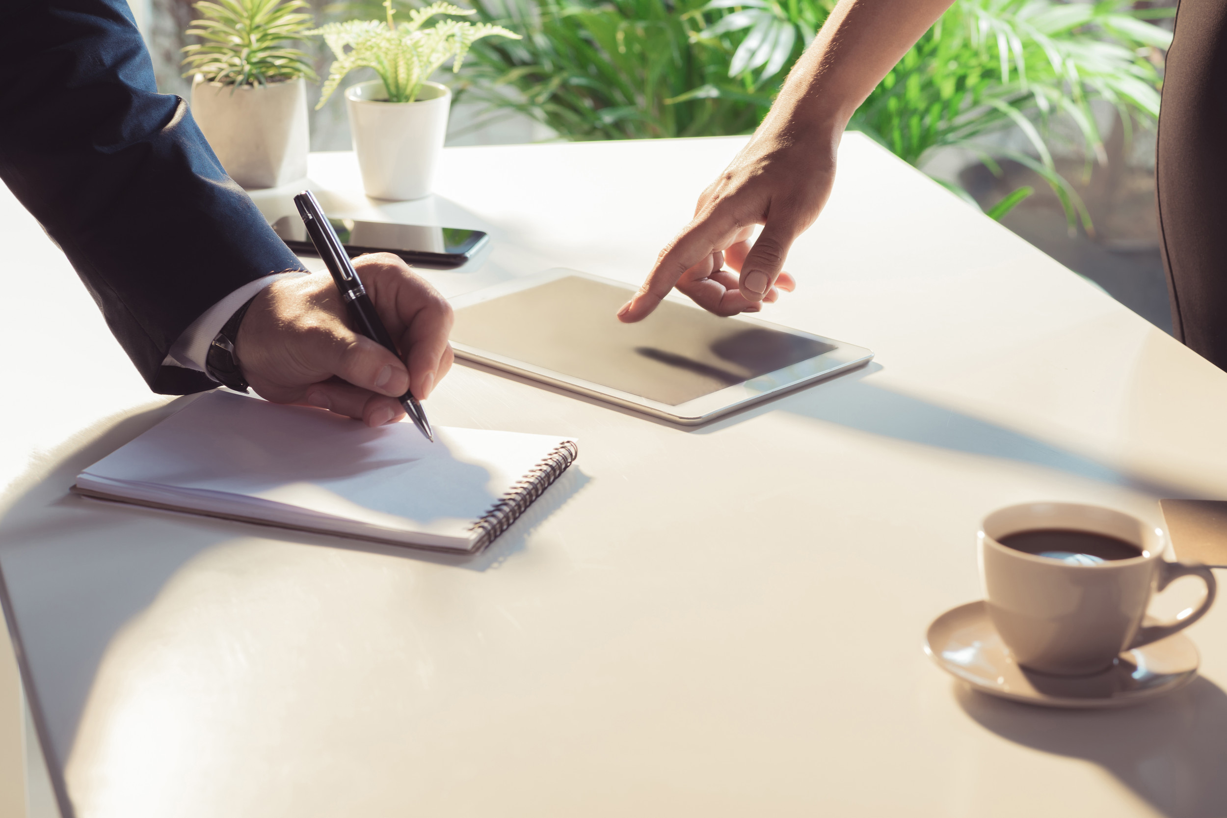The small-business benefits of going paperless
