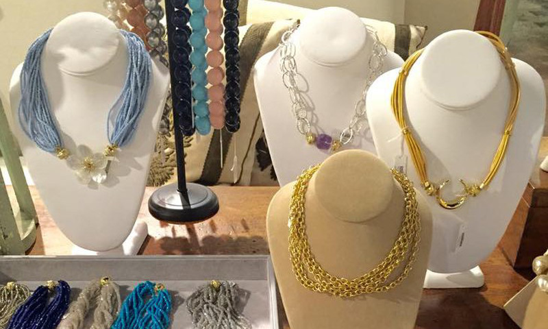 There's a little bit of everything at Foxgloves -- from jewelry to English, French, Italian, Spanish and Swedish items.