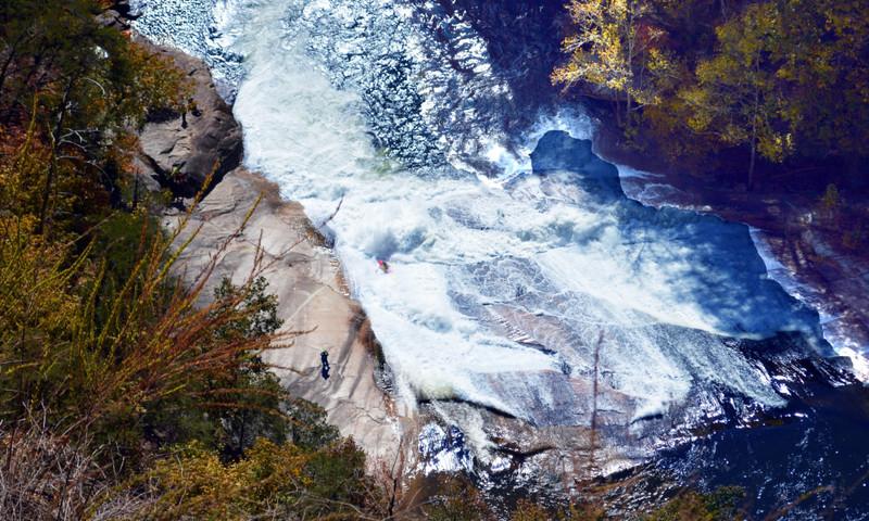 Don't miss Tallulah Gorge at its peak. (Alexa Lampasona)