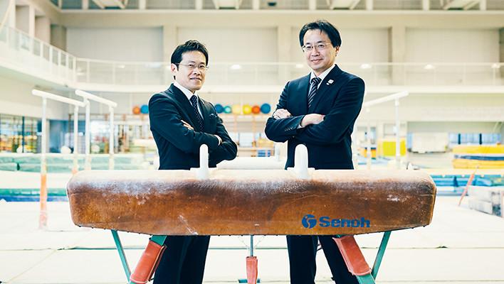 """メインビジュアル : """"体操ニッポン""""から、スポーツの世界を変える。3Dセンシング技術を用いた体操競技採点支援"""