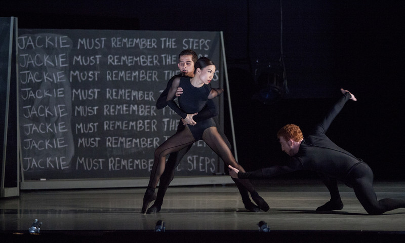 """""""Playground"""" is but one of the dances performed recently by Atlanta Ballet. (photo Charlie McCullers)"""