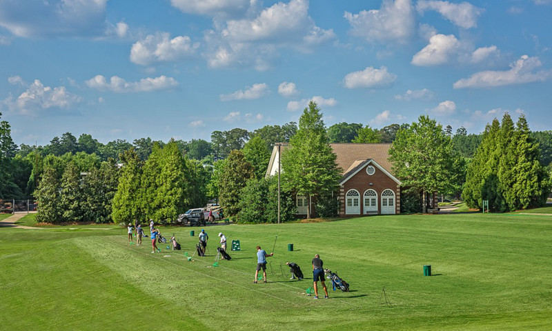 Charlie Yates Golf Course, designed by Rees Jones, is located at East Lake.