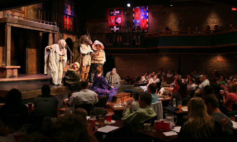Have a raucous night out on the town at Shakespeare Tavern.