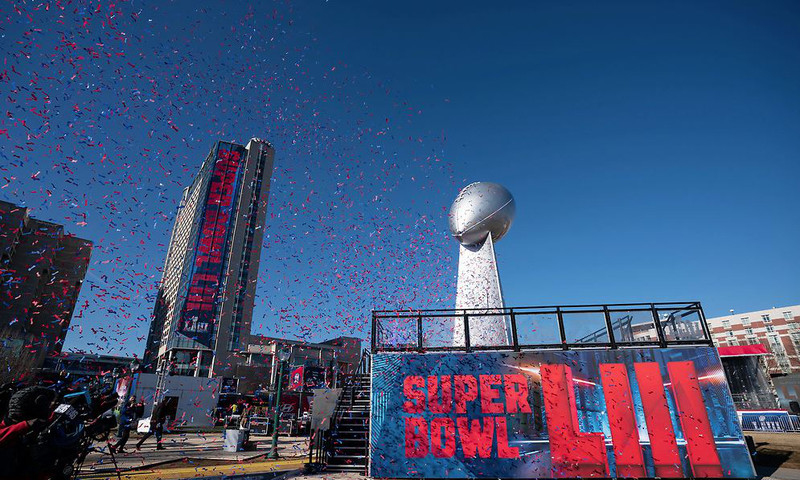 Party down in Atlanta during Super Bowl week. (photo © Paul Abell)