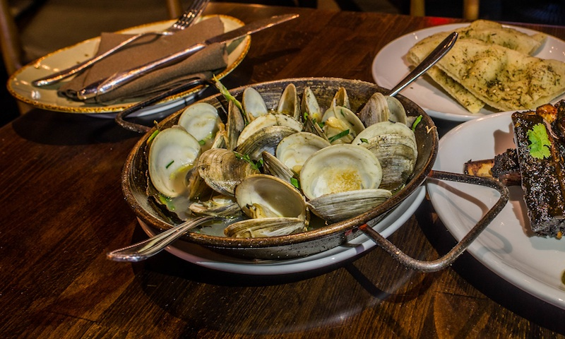 Clams are a hidden gem on the menu at Under the Cork Tree