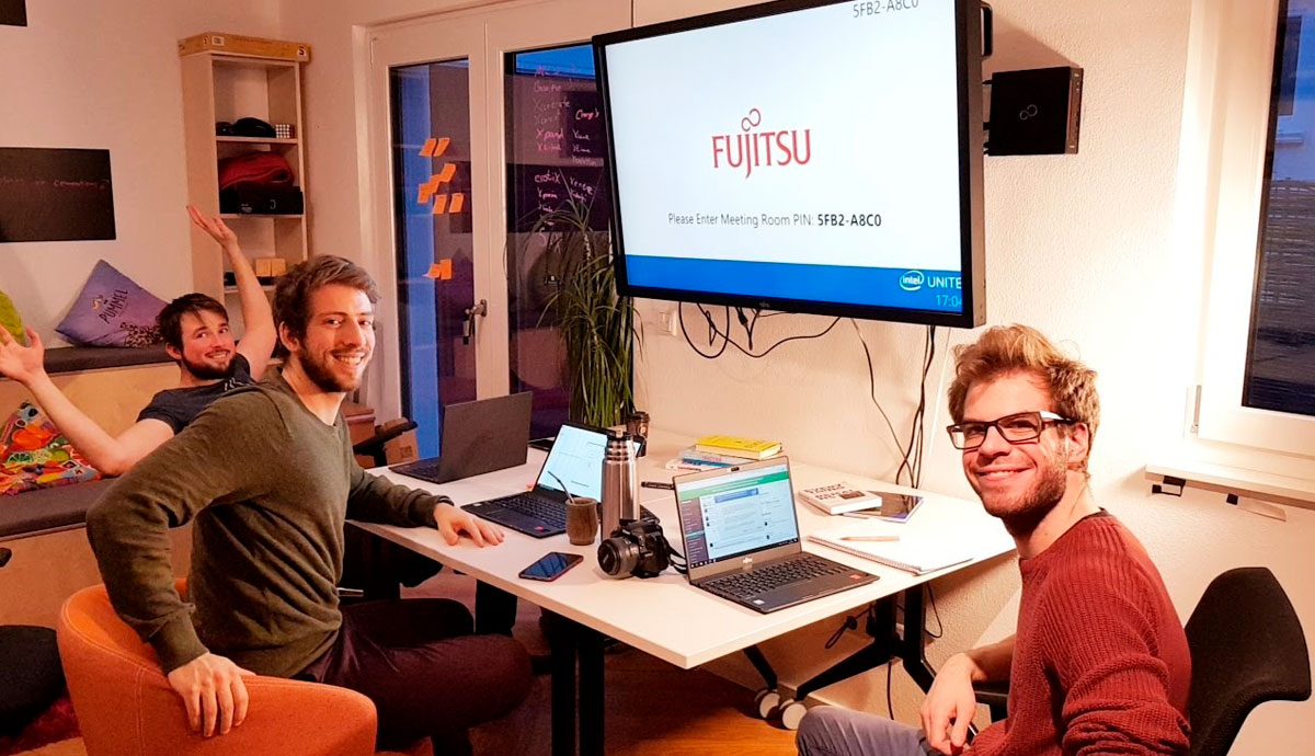 Main visual : Stronger Together: Fujitsu supports Germany's first Incubator House, hyprspace