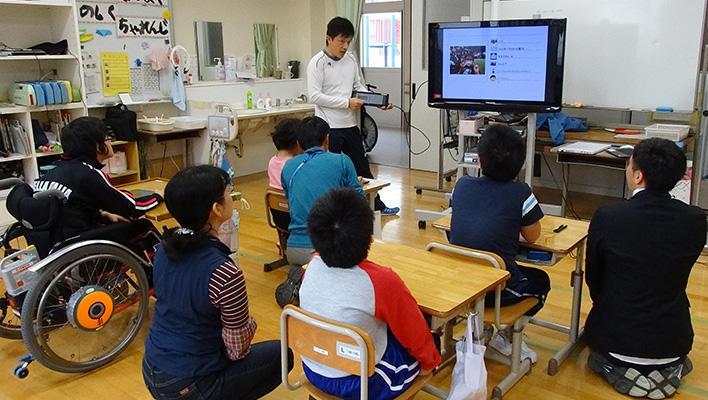 メインビジュアル : 特別支援教育の子どもたちが「ともに学べる」環境の実現へ向けて