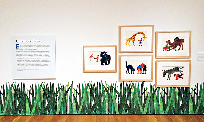 See the Eric Carle exhibit at the High Museum of Art.