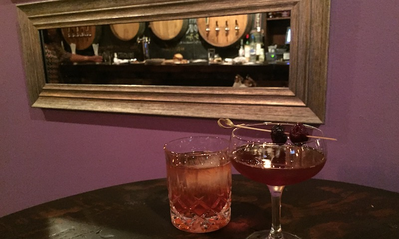 In the back of City Winery, find ABV, a speakeasy with great cocktails and small bites.