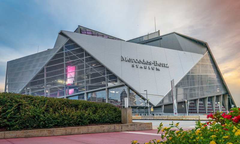 The Celebration Bowl comes to Mercedes-Benz Stadium. (Mercedes-Benz Stadium)
