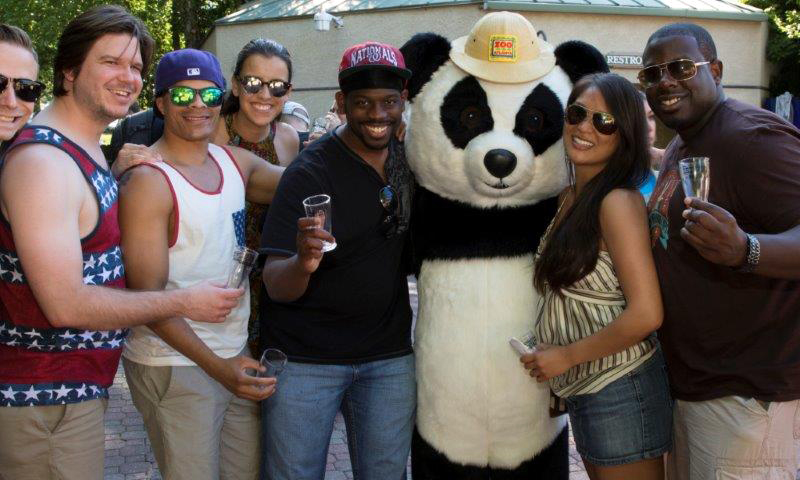 Toast to summer with your friends during Brew at the Zoo.