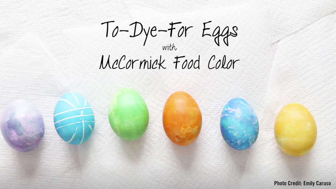 How To Dye Easter Eggs Mccormick