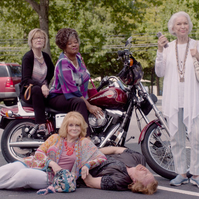 Queen Bees: a movie about cliques, flirting, friends, and pranks in the age of retirement.