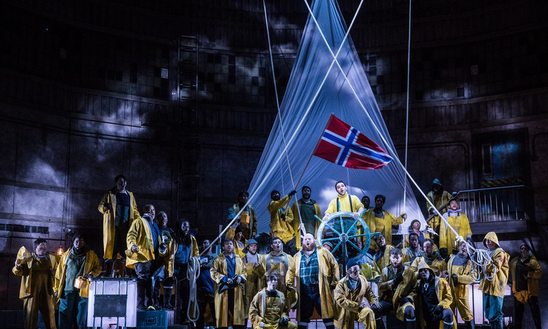 "The Atlanta Opera's ""The Flying Dutchman"" features stunning visuals."