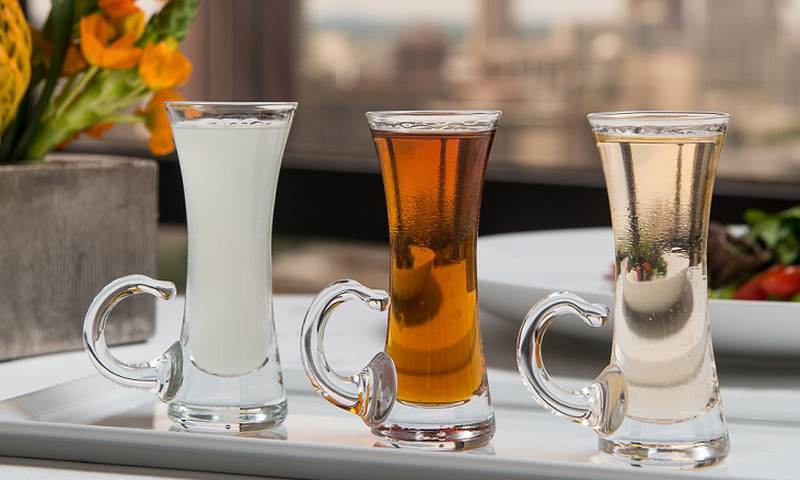Flavor-infused vodka flights and a scenic view? Sign me up.