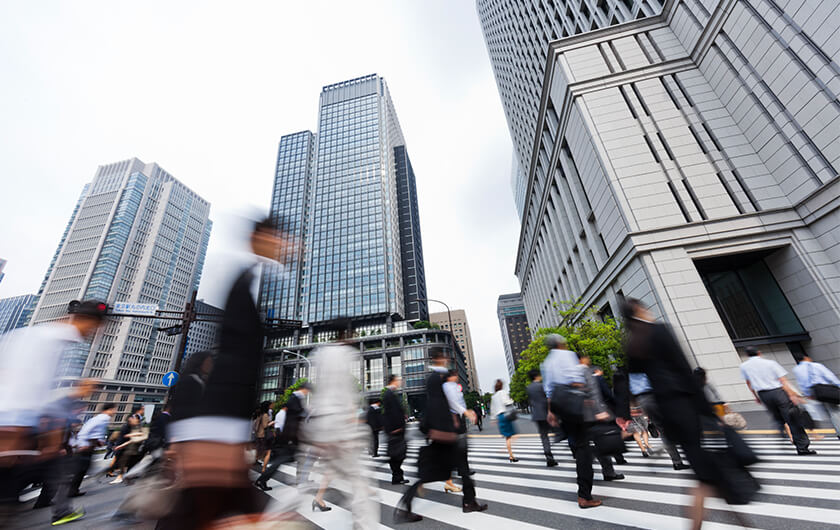 Main visual : Revitalizing Tokyo's Business District with Data from Multiple Industries (Part 1)
