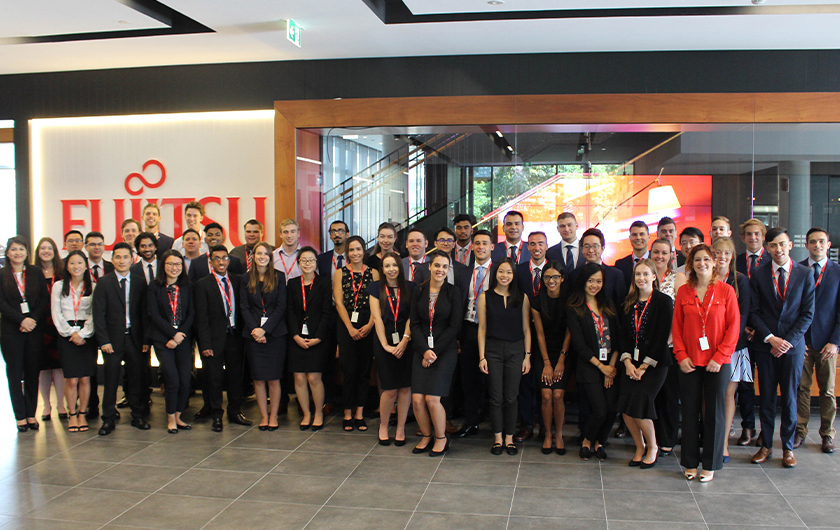 Main visual : An insight into the Fujitsu Graduate Program