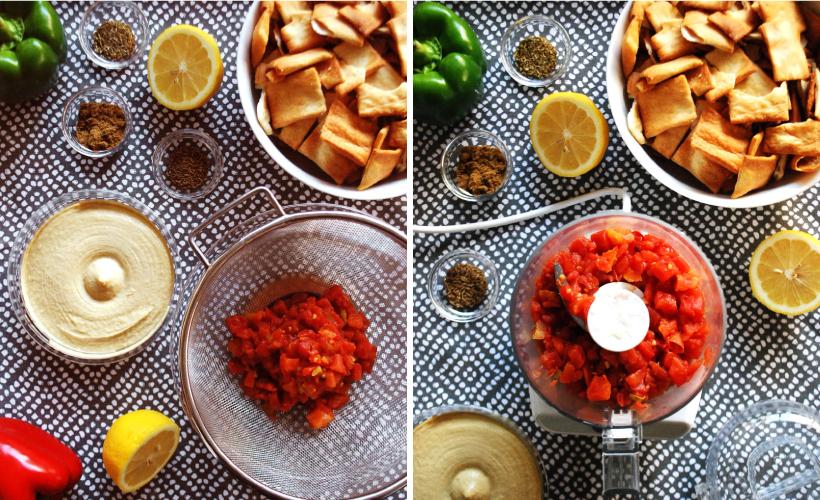 spicy-tomato-hummus-dish