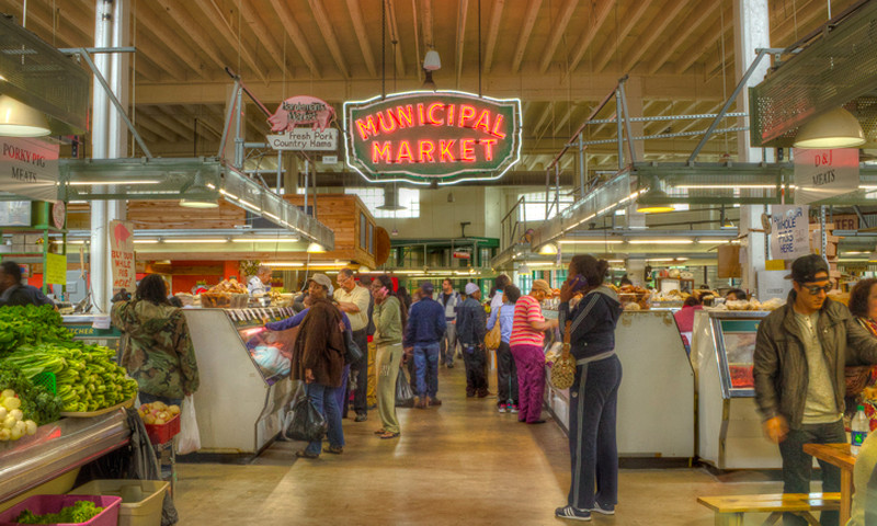 The Sweet Auburn Curb Market is a historic municipal market. (Jay Jordan, AtlantaPhotos.com)