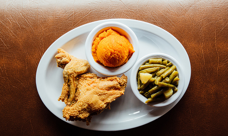 Busy Bee calls itself Atlanta's Soul Food Kitchen, and we agree. (📷 Brittany Wages)