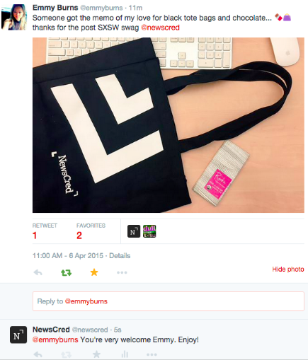 Twitter User Generated Content Social Media