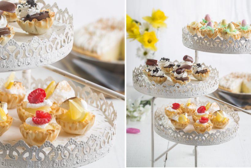 Mini Spring Pie Cups