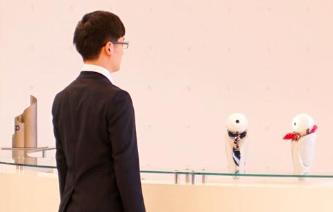 メインビジュアル : AI ×ロボット技術で人に寄り添う(コミュニケーション編)