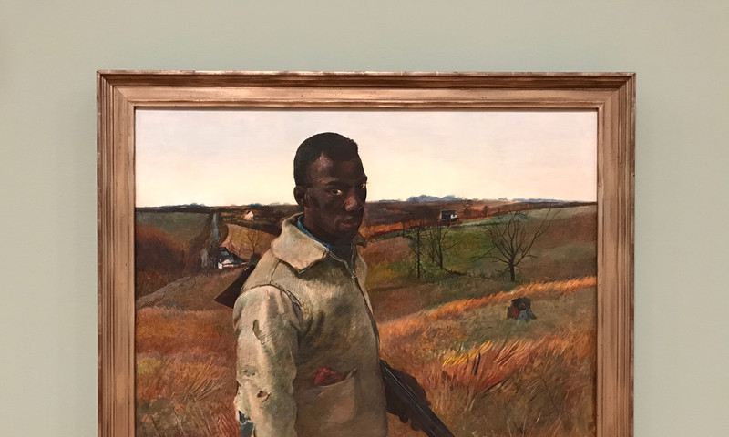 Andrew Wyeth painted this portrait of his childhood friend.