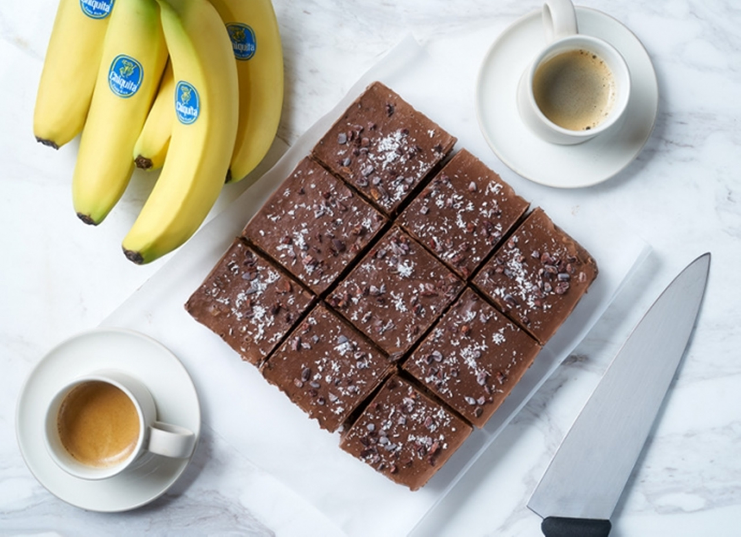 Holiday Healthy Banana Fudge