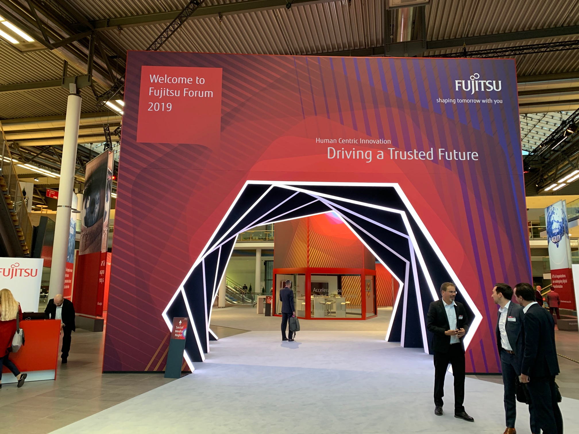 Main visual : What to look out for at Fujitsu Forum Munich