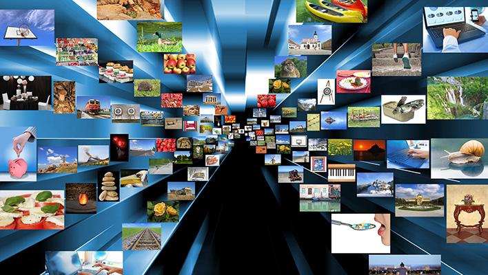 メインビジュアル : スマホの通信速度が100倍になれば映像も音楽ももっとサクサク楽しめる