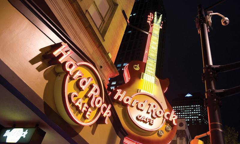 Hard Rock Cafe is a good game day choice. (Patrick Williams Photography)