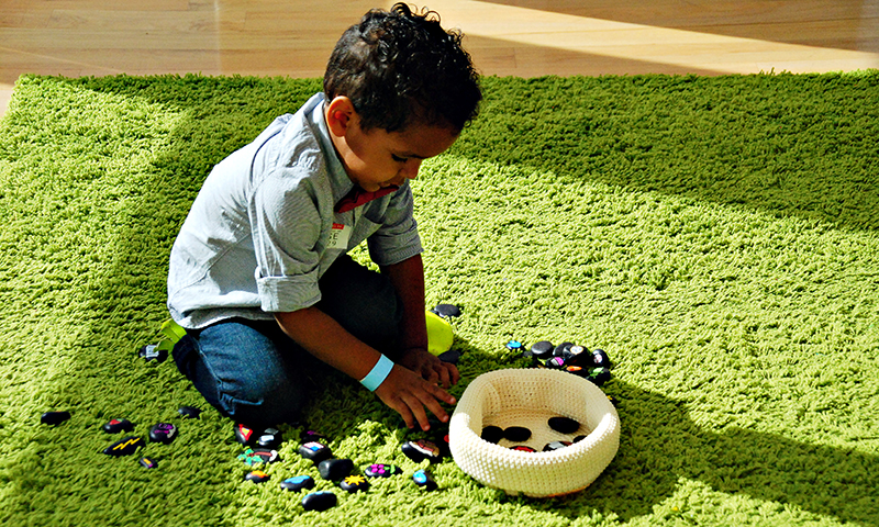 Play and learn during Toddler Takeover.