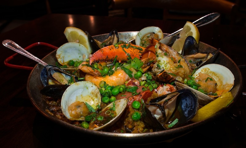 Sandy Springs' Under the Cork Tree has a menu full of gluten-free items including the paella.