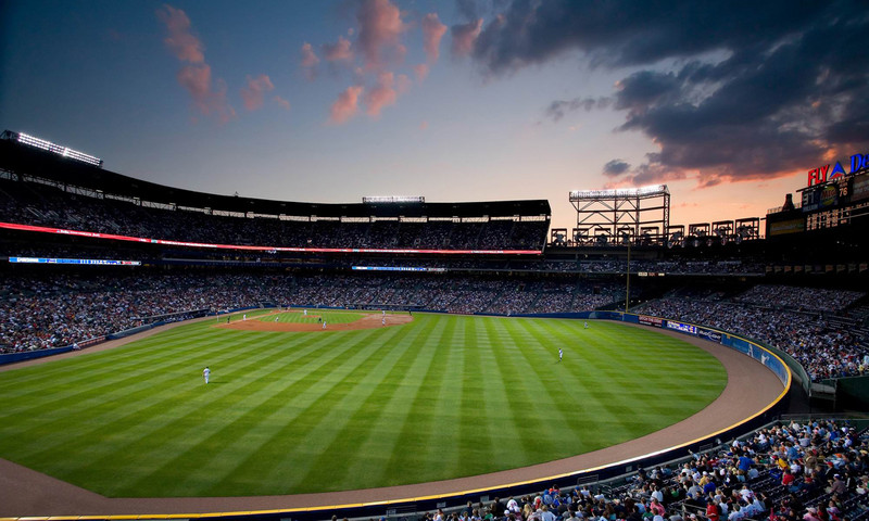 Sitting in the Braves dugout is one of the many thrills of touring Turner Field, open year-round.