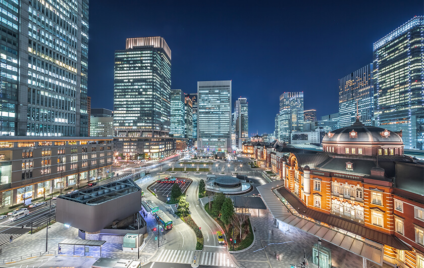Main visual : Revitalizing Tokyo's Business District with Data from Multiple Industries (Part 2)