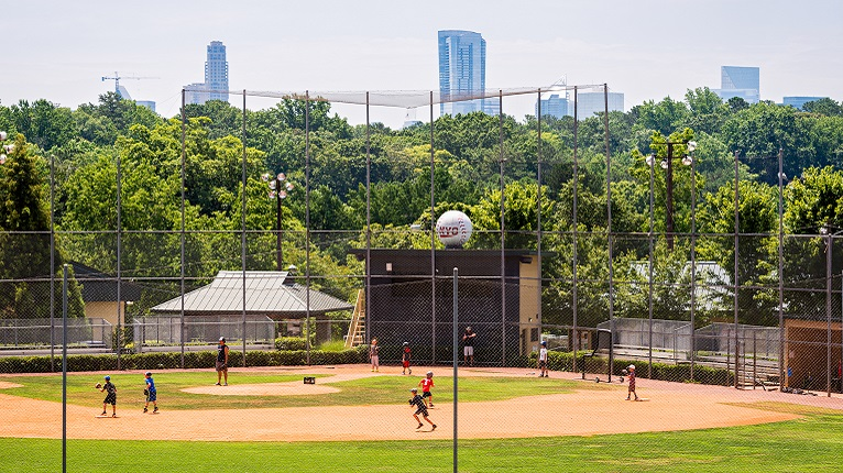 Baseball Fields at Chastain Park - Buckhead Atlanta