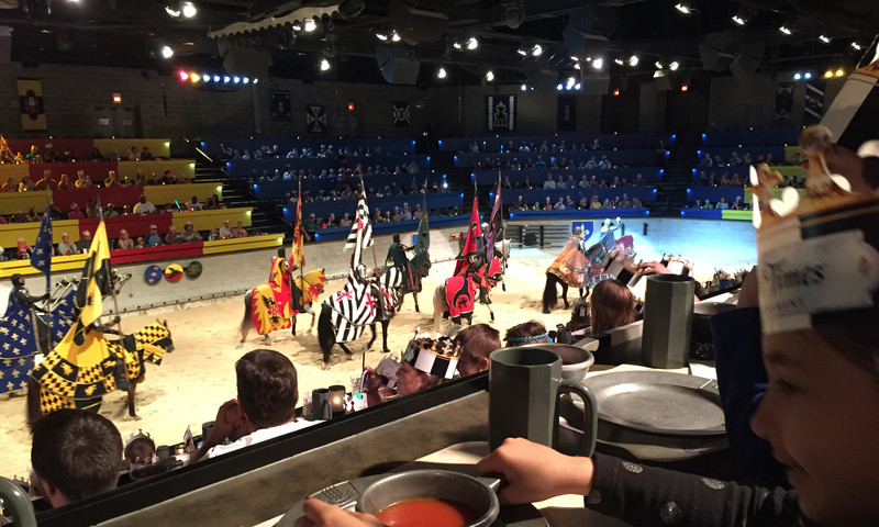 Kids will have a blast at Medieval Times.