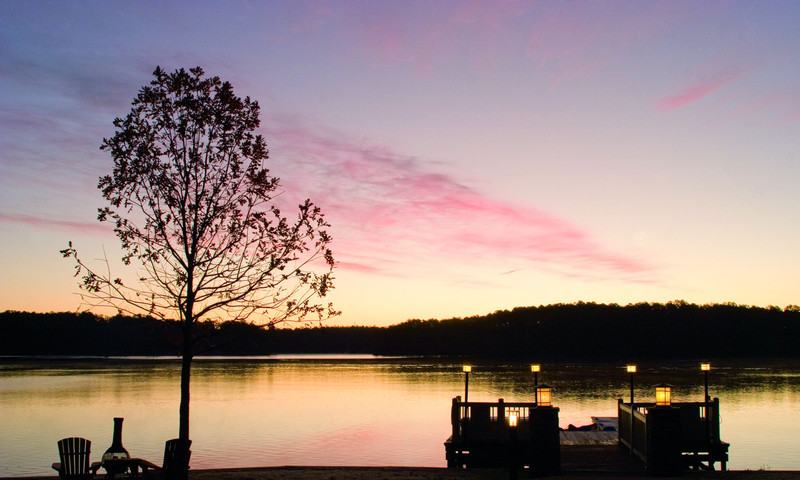 Who wouldn't want dinner for two by the lake? It's yours at the Ritz-Carlton at Lake Oconee.