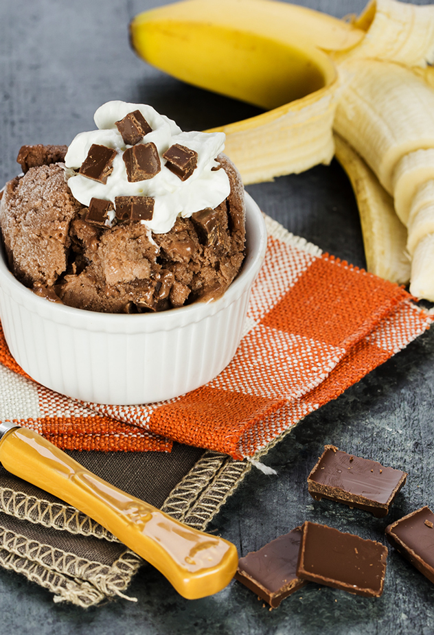 Banana Chocolate Chunk Ice Cream Recipe