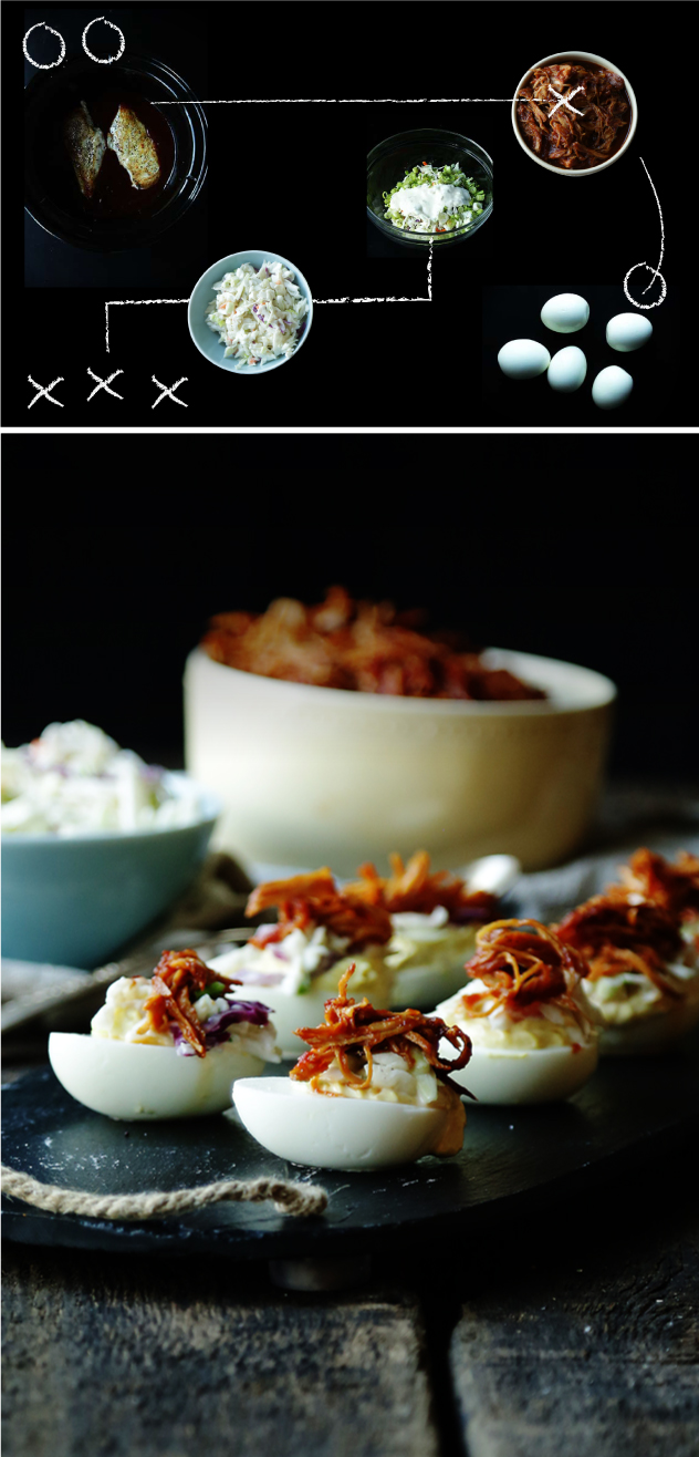 BBQ-Pulled-Chicken-Deviled-Eggs-with-Coleslaw_Other-Recipes_Second-Piece_Billy-Parisi_Tailgate-Campaign.jpg