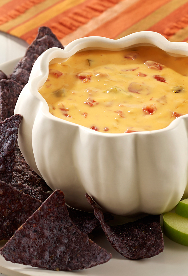 Hard Cider Queso Dip Halloween Party Recipe