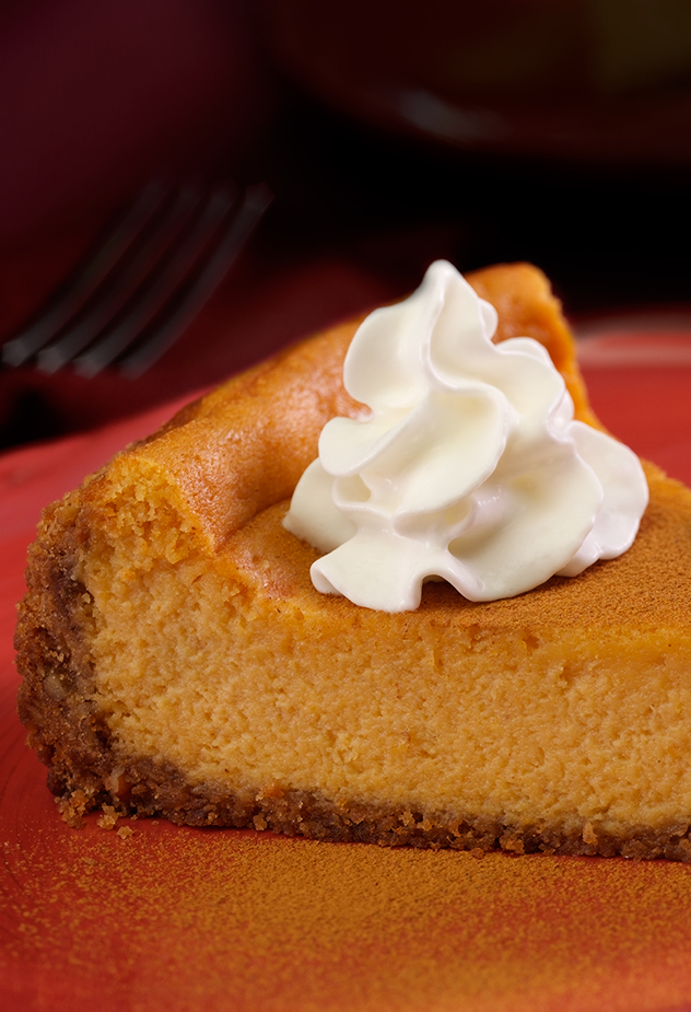 Cinnamon-Pumpkin Cheesecake Fall Recipe